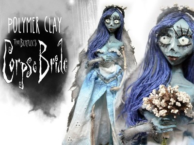 """Polymer Clay """"The Corpse Bride"""" Sculpture - MAKING OF!"""
