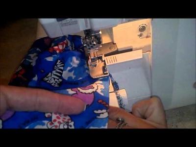 Scrub hat how to sew step 3