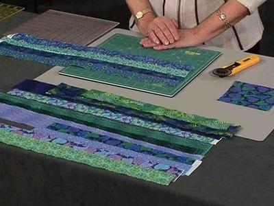 Simple Strips & Strings quilt with Valerie Nesbitt