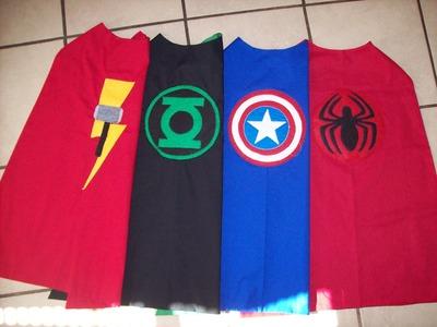 Superhero Cape Logo Tutorial