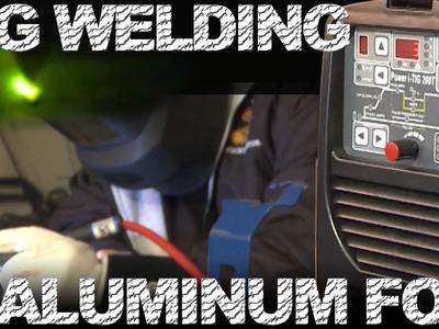TIG Welding Aluminum Foil | TIG Time