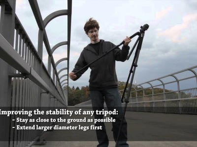 Time-lapse Tutorial Part 3 - Tips for Tripods and Stability