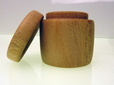 Wood Turning Small Sycamore Box