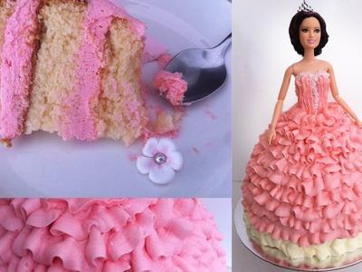 Birthday Cake. Princess Doll Tutorial How To Cook That Ann Reardon