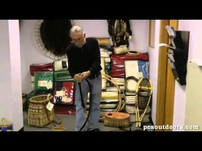 Black Ash Pack Basket Weaving with Willy Colby