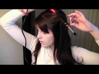 Bohemian Curls Hair Tutorial using Conair Infiniti Curling Wand