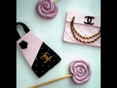 Chanel Bag Inspired Charm Tutorial (Polymer Clay)