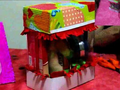 Como hacer una caja para regalar a mi novio-padre.As a parent boyfriend-make a box to give to my