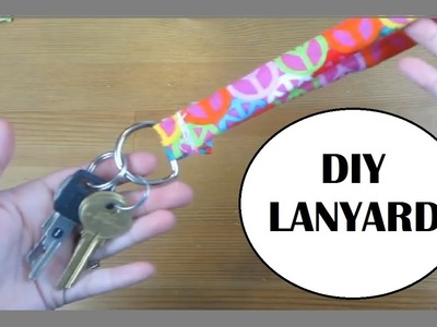 D.I.Y Fabric Lanyard