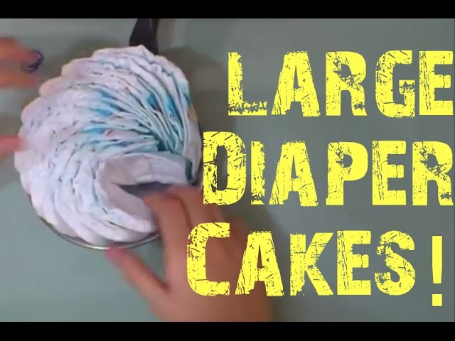 Diaper Cake Big Wheel Instructions