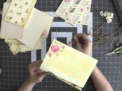 Garden Glam Mini Book Tutorial