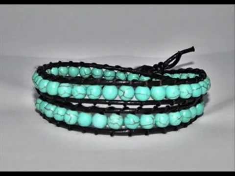 Handmade Unique♥♥♥Leather wrap bracelets♥♥♥summer collection 2011 - by A&M Designs