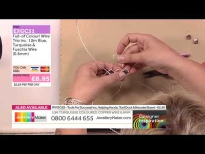 [How to create Wirework Jewellery] - JewelleryMaker DI 8.6.14