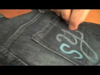 How To Decorate Your Jeans with Easy Embroidery