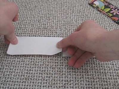 How to do a Candy Wrapper bag 2
