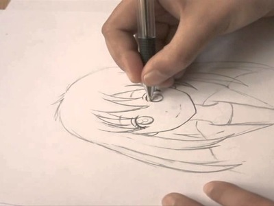 How to draw simple anime character | By Doaa Amayr