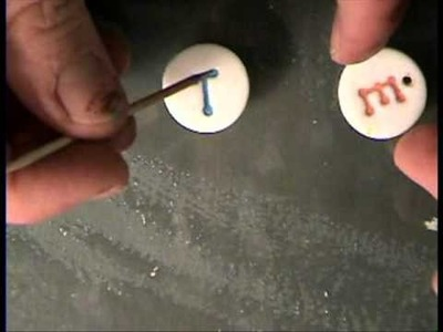 How to get Letters on Polymer Clay by Garden of Imagination