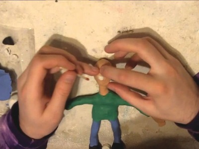 How To Make A Clay Man Tutorial