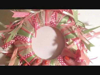 How to make a Cute Hanging Ribbon Mirror