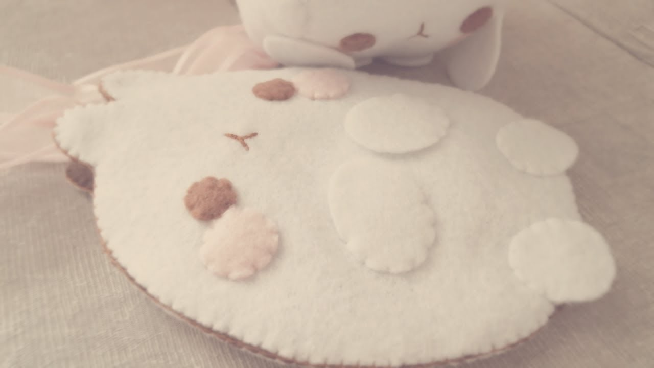 How To Make A Molang Felt Pouch Tutorial