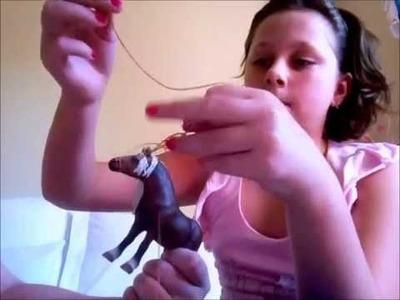 How to make a toy horse reine bridle breyer scheiltz