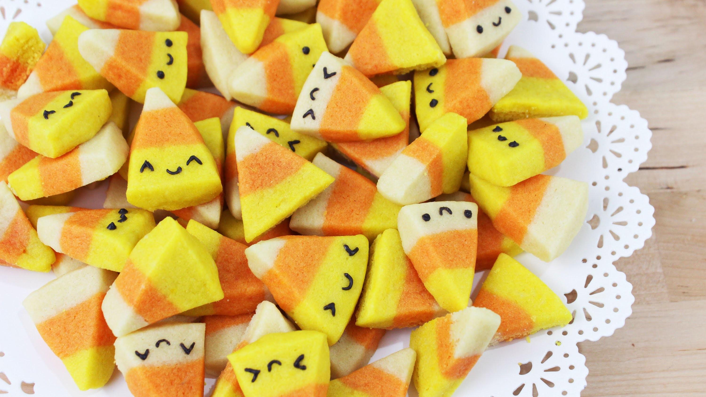 How to Make Halloween Candy Corn Cookies!