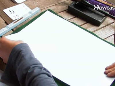 How to Make Japanese Calligraphy Art