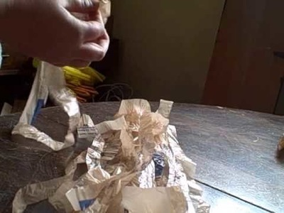 How to make plarn - plastic yarn