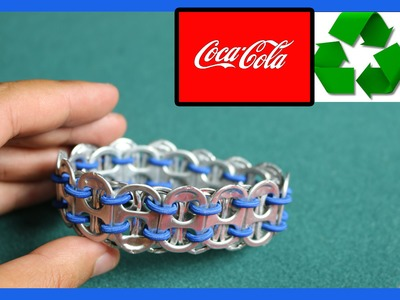 ♻♻ How To Make Recycled bracelet coke can ♻♻