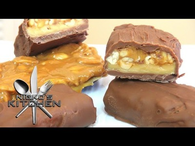 How to make Snickers Bars - Video Recipe