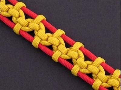 How to Make the Bound Tower Bar (Paracord) Bracelet by TIAT