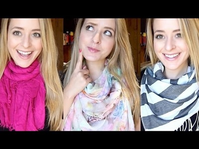 How to: Wear a Scarf