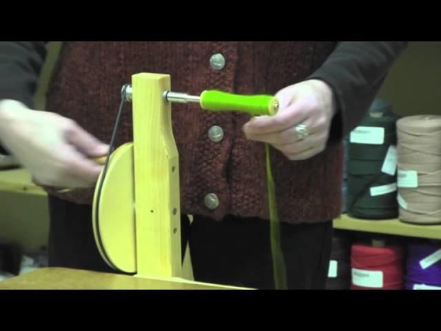 How To Wind a Weaving Boat Shuttle Bobbin