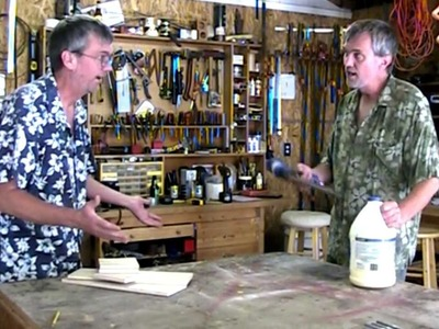 Jon & Lou build a toilet paper holder and book-nook