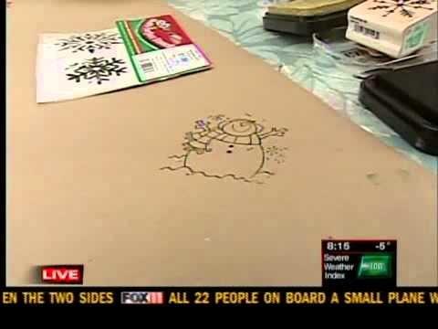 Kids gift wrap idea