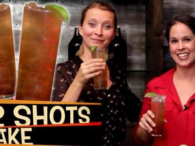 Long Island Iced Tea   Cocktails With Rachel's English   2 Shots 1 Take!