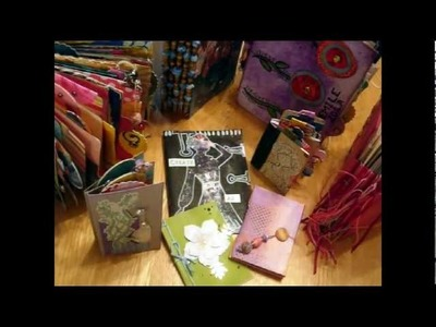 Make a Mini Book from a Recycled Greetings Card ~ Book #2: Accordion with Clip