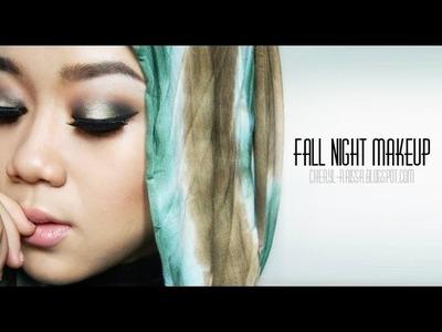 Makeup Tutorial - Fall Night Look   Cheryl Raissa