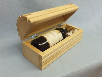 Making a Wine Gift Box - A woodworkweb.com woodworking  video