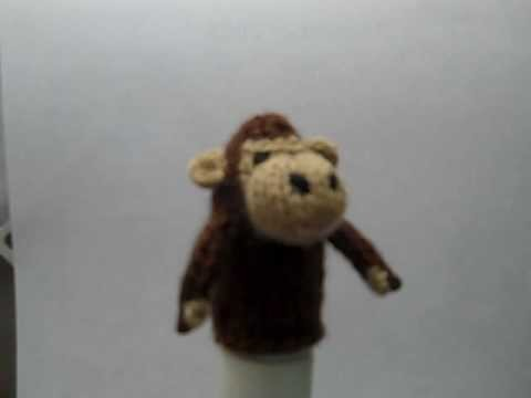 Monkey Finger Puppet.wmv