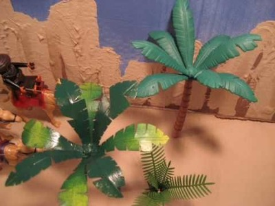 Palm Trees: How to Make Playmobil Scenery