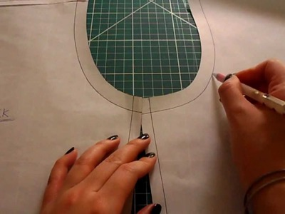 Pattern Cutting Tutorial: How To Eliminate Back Yoke Darts Off A Shirt