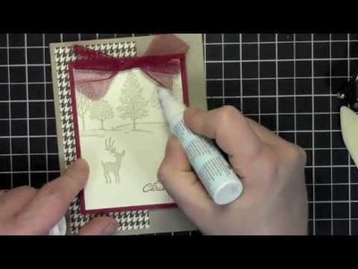 Quick & Easy Christmas Card with Joyous Celebration and Lovely as a Tree