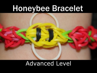 Rainbow Loom® Honey Bee Bracelet