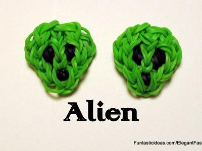 Ranbow Loom Alien Charm - How to - Emoji.Emoticon Series