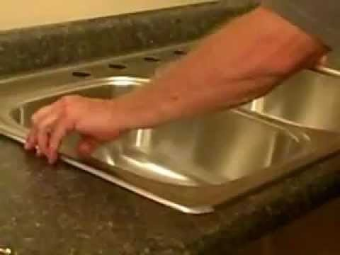 Replace a Kitchen Sink - How to Install a Kitchen Sink