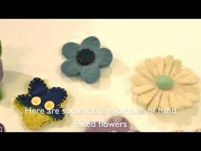 Sewing Projects - Stitch - felting by hand