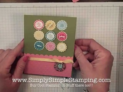 Simply Simple FLASH CARD 2.0 - You Make Me Smile by Connie Stewart