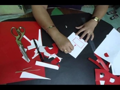 Step by Step A to Z Letter Cutting