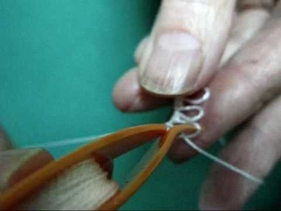Tatting: How to make a Picot